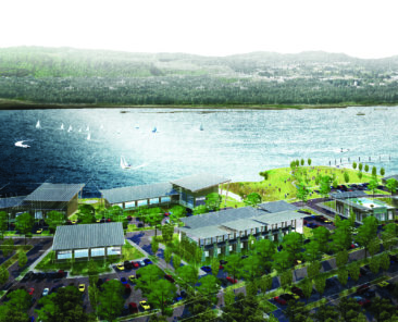 Conceptual design waterfront