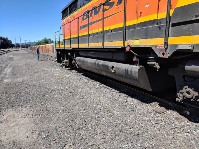 Kemira rail spur repair