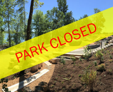 park closed edit